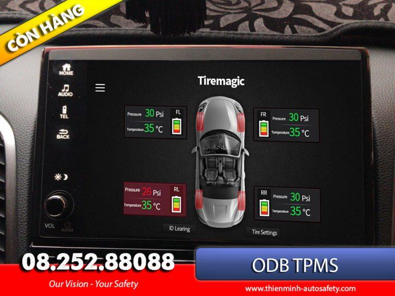 USB TPMS hiển thị trên màn hình Android DVD